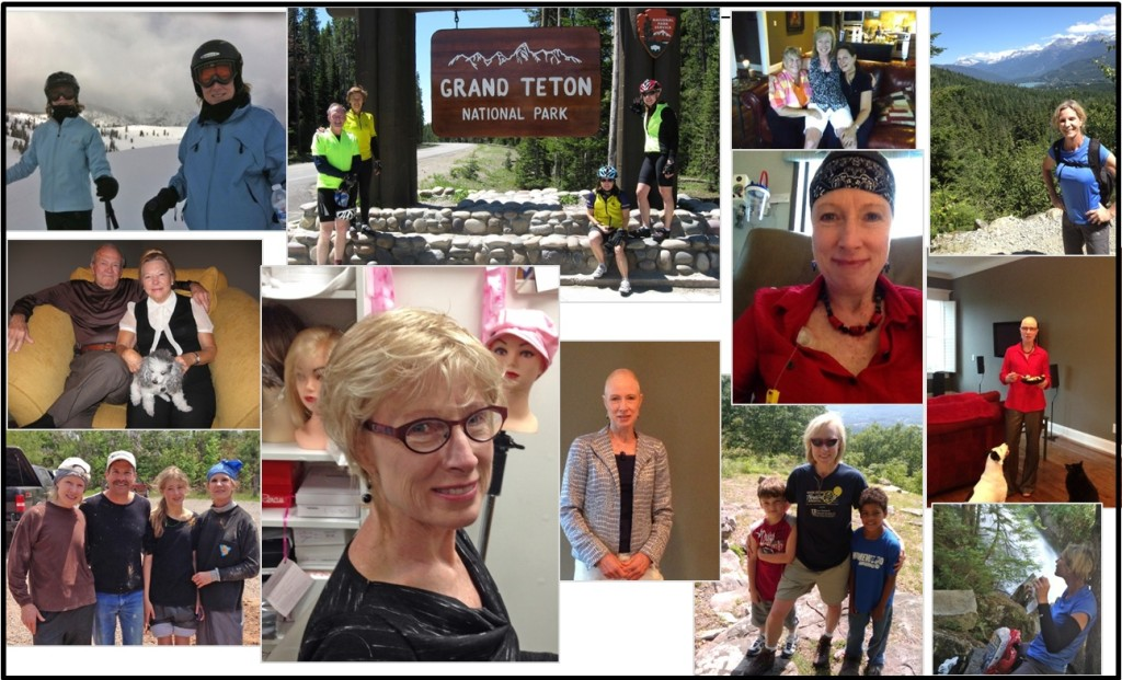 Events of this summer have made me introspective. This collage of photos captures just a few of the meaningful people and events in my life.