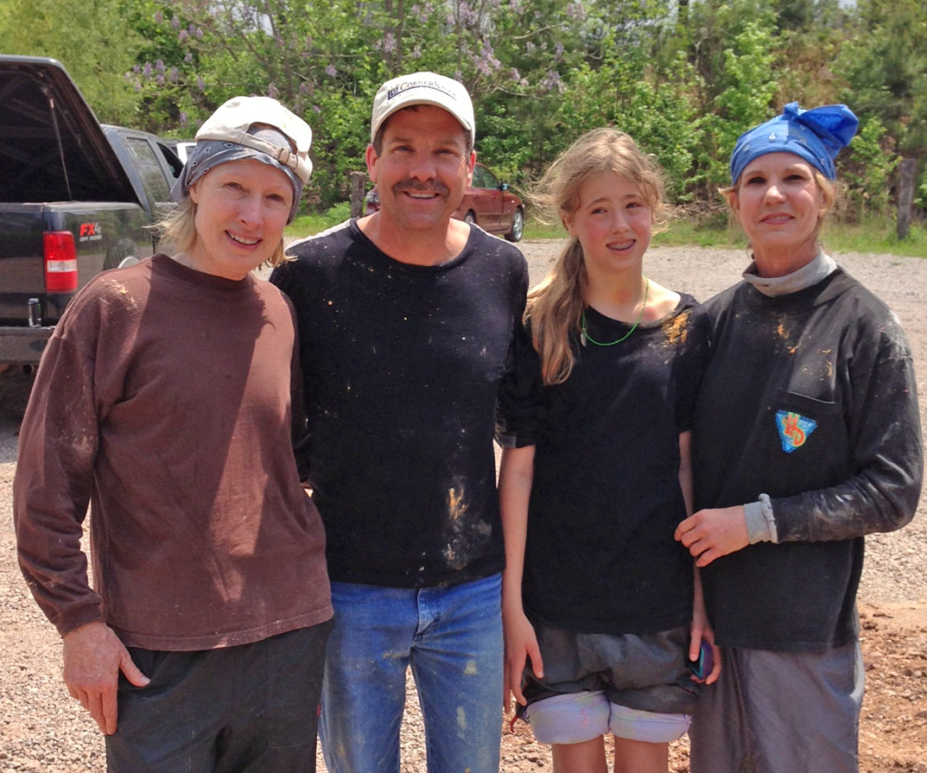 These days, I'm filled with gratitude for so many members of my support team. No. 1 among them is Belynda Adams, shown at right after paintball outing in April. Her brother, Kyle, and his daughter shared in the fun that day.