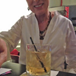 My sister, Deb, had to be out of town for my birthday dinner last night at a neighborhood pizza spot, but arranged to have sent to the table a Scotch with a sweet note of good wishes.
